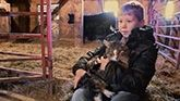 Jacob Keeling, Cancer Survivor: No one could have predicted the positive impact an Angus heifer would have on this treatment.