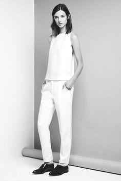 MINIMAL + CLASSIC all white with oxfords
