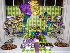 Mardi Gras Party #mardigras #party