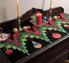 Vencer ESTA Festivo DEZEMBRO la Table Runner! »Noções - O Conexão Blog Threads Quilt