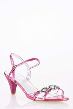 f394db300 Elegant Sandal with Jewel and Diamante Detail
