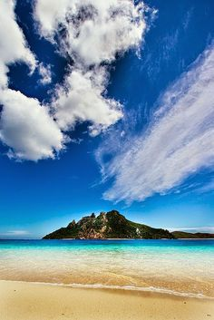 Time for beach therapy!  Turtle Island, Fiji #travel #explore