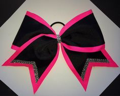 Custom made cheer bows!