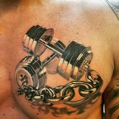 Images about #dumbelltattoo on Instagram