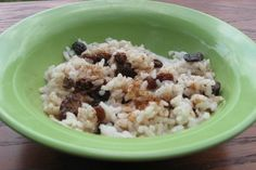 Using Leftovers: Easy Rice Pudding in microwave