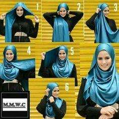 Tutoriels de Hijab12