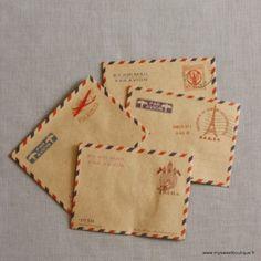 Mini enveloppes AirMail par 10