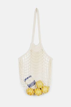 Collected by The Line — Filt Large Net Bag Natural — THE LINE
