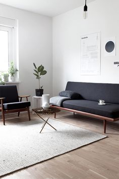 minimal decoration for a simple living room.