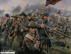 Bloodied But Unbeaten (The Battle for the Dunkard Church During the Battle of Sharpsburg, September by Chris Collingwood.