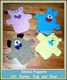 Ravelry: Animal Puppets pattern by Sara Sach