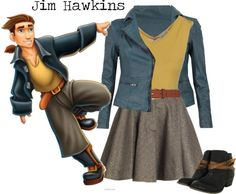 """Jim Hawkins (girl)"" by strawberryapricotpie ❤ liked on Polyvore"