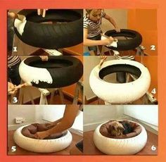 Amazing diy dog bed