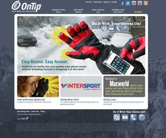 OnTip Gloves brand strategy, identity, e-commerce site, video commercial and promotions, online advertising, product photography, product tags, promotional materials, pr and social media management by Designbox. #designboxbrand #designboxweb #designboxoutdoor #ontip