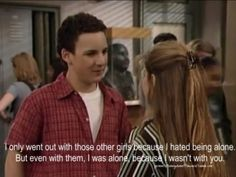 Boy Meets World alllll day. I want a boy to say cute things to me like Cory Matthews does to Topanga. Boy Meets World Quotes, Girl Meets World, Tv Quotes, Movie Quotes, Qoutes, Deep Quotes, Crush Quotes, Incorrigible Cory, Cory Matthews