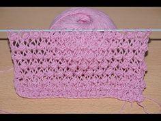 Вязание спицами для начинающих. Узор БУКЛЕ или ШИШЕЧКИ  ///  Knitting fo...