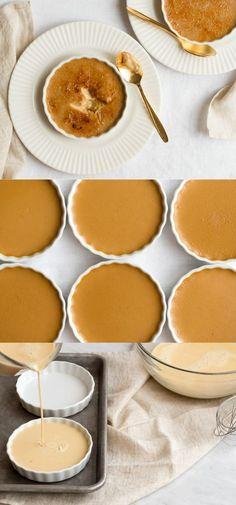 A Make-Ahead Butterscotch Creme Brulee Elegant Desserts, Classic Desserts, Fancy Desserts, Just Desserts, Delicious Desserts, Dessert Recipes, Yummy Food, Comida Kosher, Brulee Recipe