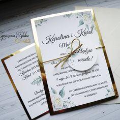 Biała piwonia ze złotym papierem 😊💌 #zawiadomienia #zaproszenia #zaproszenie #zaproszenianaślub #zaproszeniaślubne #ślub2018 #ślub2017… Boho Wedding, Wedding Day, Wedding Dress, Wedding Invitation Design, Wedding Inspiration, Place Card Holders, Impreza, Weeding, Projects