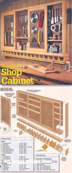 Basement workshop plans shop pegboard cabinet plans workshop solutions plans tips and tricks architecture salary per Woodworking Workshop, Teds Woodworking, Woodworking Crafts, Woodworking Classes, Grizzly Woodworking, Woodworking Tutorials, Youtube Woodworking, Woodworking Machinery, Diy Garage Storage