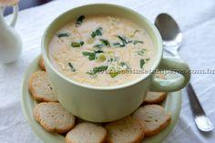 Sopa Creme de Batata | Receitas e Temperos