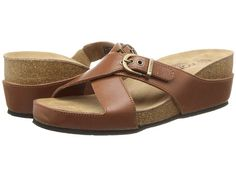 bffeba26fc47 VIONIC with Orthaheel Technology Mallorca Tan - Zappos.com Free Shipping  BOTH Ways Hippy