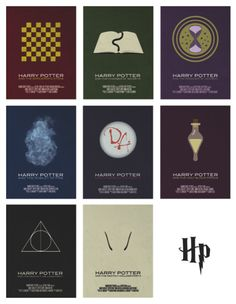 Harry Potter Series by Vincent Gabriele