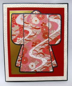 Another Asian inspired card, this one for my sweet friend Gene who celebrated her birthday earlier this month. Had been wanting to try a ...