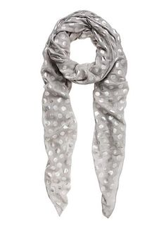 Scarf with metallic spot detail. Seed Heritage, Buy Buy, Things To Buy, Womens Scarves, Seeds, Metallic, Girly, Detail, My Style