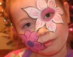Free Easy Face Painting Designs | Image: Happy Kids part of FACE PAINTS & SUPPLIES,