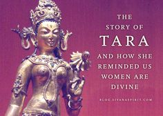 Back then, (around 600 BC) it was not exactly common place to give women an equal standing with men. But the story of Tara and her compassion changed that. Tara Goddess, Goddess Quotes, Tibetan Buddhism, Buddhist Wisdom, Buddhist Teachings, Goddess Tattoo, Mudras, Divine Feminine, Buddhism