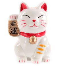 Maneki Neko waving Cat money