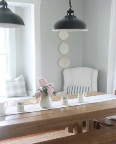 Vintage Farmhouse Home Decor - Lisa from Farmhouse on Boone knows all the best ways to decorate her farmhouse home!  I love how she places her Antique Candle Works candles!