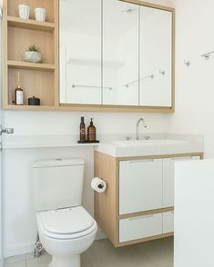 Don't make an effort to fit in each individual thing which you believe a bathroom should have. Hanging shower curtains to earn small bathroom appear b. Cabinet Remodel Diy, Shower Remodel, Trendy Bathroom, Minimalist Bathroom Design, Small Bathroom Decor, Small Bathroom, Remodel Diy Budget, Bathroom Design, Bathroom Decor