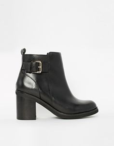 River Island Bazo Buckle Strap Ankle Boots