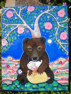 Medicine Bear by Lindy Longhurst