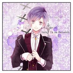 """Sorry I'm so awkward. // Kanato Sakamaki"" by ender-chic52 ❤ liked on Polyvore featuring art"