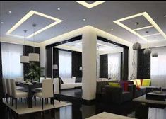 3 Easy And Cheap Useful Tips: False Ceiling With Fan For Bedroom false ceiling ideas for kids.False Ceiling Design For Bedroom. Home Interior, Interior Design Living Room, Living Room Designs, Design Room, Interior Modern, Interior Decorating, False Ceiling Design, Plaster Of Paris Design, False Ceiling Living Room