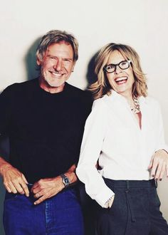 Harrisson Ford and Diane Keaton #actors #actresses #cinema