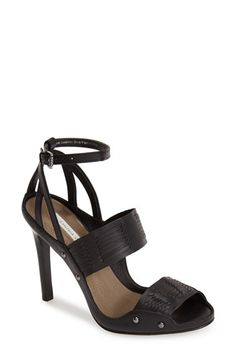 CYNTHIA VINCENT 'Jigsaw' Leather Sandal (Women) available at #Nordstrom