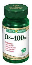 Free Nature's Bounty Vitamins at CVS!