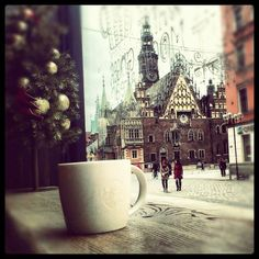 piękny Wrocław, gorąca czekolada, magia świąt :)