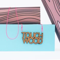 Newly re-designed, Touch Wood Necklaces