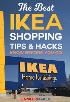 IKEA Shopping Tips, Tricks, and Hacks to Save Time and Money and Sanity! Ikea Shopping, Shopping Hacks, Store Hacks, Interior Design Ikea, Diy Home Accessories, Planning Budget, Best Ikea, Diy Home Repair, Ikea Home