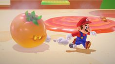 Magmato (once defeated, it melts down into a puddle of lava) | Super Mario Odyssey