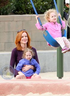 Marcia Cross With Savannah and Eden Emergency C Section, Marcia Cross, Fraternal Twins, Fluffy Sweater, She Girl, Savannah Chat, Give It To Me, Breast