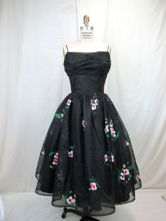 1950s Dress, Tova's Vintage Shop