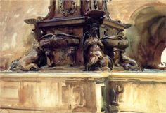 Bologna Fountain - John Singer Sargent