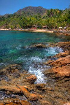 Las Caletas, Puerto Vallarta, Mexico - Went snorkeling here, it was amazing!