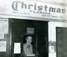 Christmas, FL ... Central FL town, mailing Christmas cards & packages back in the day.