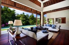 Villa Champuan, Bali, submitted by H2C Interior Architects.